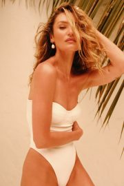Candice Swanepoel at Tropic of C Resort 2021 New Collection Photos 1