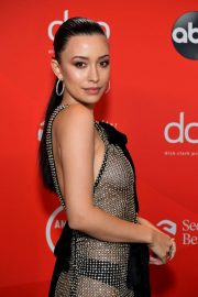 Christian Serratos at American Music Awards 2020 in Los Angeles 2020/11/22 4