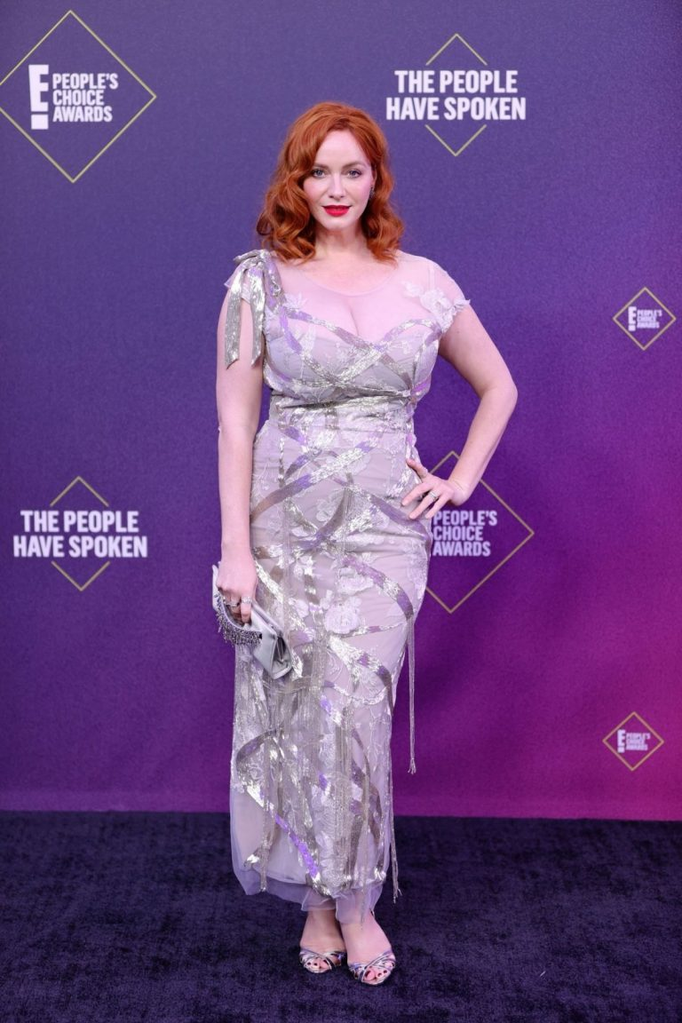 Christina Hendricks at 2020 People's Choice Awards in Santa Monica 2020/11/15 1