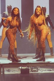 City Girls Yung Miami and JT Performs at Bet Hip Hop Awards 2020/10/27 15