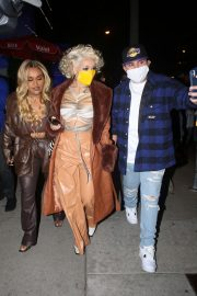 Doja Cat Arrives at PrettyLittleThing Launch Dinner in West Hollywood 2020/11/15 5