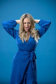 Emily Atack Photoshoot for Evening Standard 2020 Issue 2