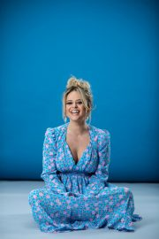 Emily Atack Photoshoot for Evening Standard 2020 Issue 5