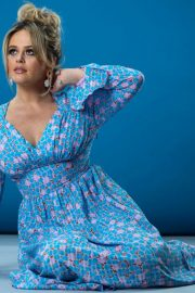 Emily Atack Photoshoot for Evening Standard 2020 Issue 6