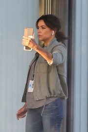 Eva Longoria on the Set of a New Movie in Los Angeles 2020/11/22 1
