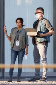 Eva Longoria on the Set of a New Movie in Los Angeles 2020/11/22 6