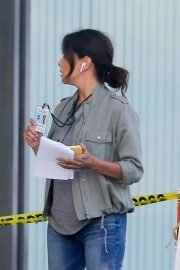 Eva Longoria on the Set of a New Movie in Los Angeles 2020/11/22 7