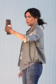 Eva Longoria on the Set of a New Movie in Los Angeles 2020/11/22 9