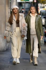 Frankie and Demi Sims walks Out in London 2020/11/27 2