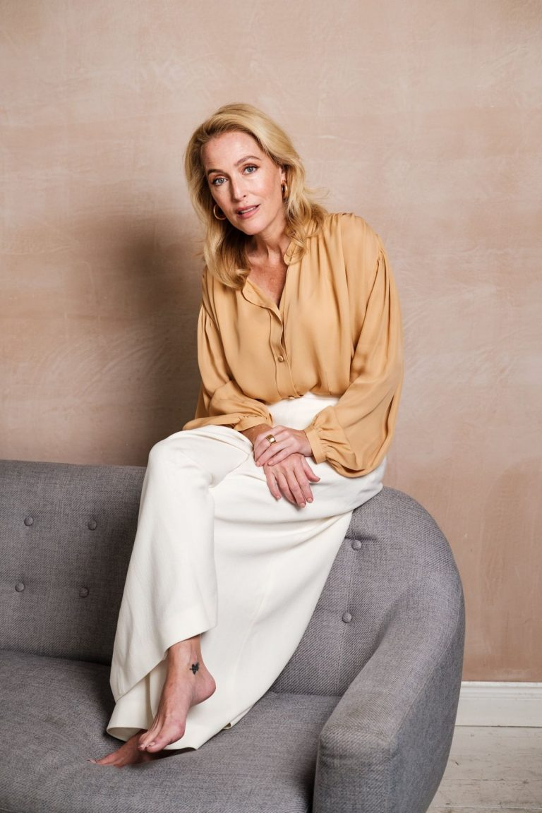 Gillian Anderson in Harper's Bazaar Magazine, UK December 2020 3