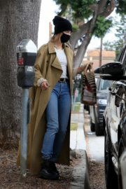 Hailey Rhode and Justin Bieber Out and About in Brentwood 2020/10/22 1