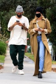 Hailey Rhode and Justin Bieber Out and About in Brentwood 2020/10/22 2