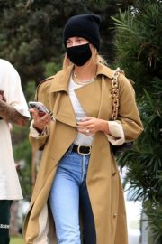 Hailey Rhode and Justin Bieber Out and About in Brentwood 2020/10/22 4