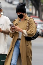 Hailey Rhode and Justin Bieber Out and About in Brentwood 2020/10/22 5
