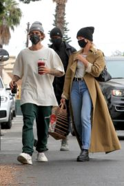 Hailey Rhode and Justin Bieber Out and About in Brentwood 2020/10/22 6
