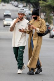 Hailey Rhode and Justin Bieber Out and About in Brentwood 2020/10/22 7