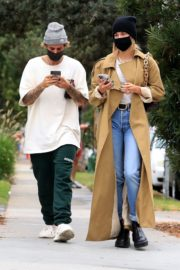 Hailey Rhode and Justin Bieber Out and About in Brentwood 2020/10/22 8