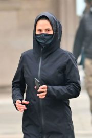 Hayley Atwell Out Jogging in Venice 2020/10/29 9