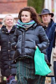 Helena Bonham Carter and Rye Dag Holmboe Out in London 2020/11/15 1