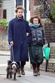 Helena Bonham Carter and Rye Dag Holmboe Out in London 2020/11/15 3