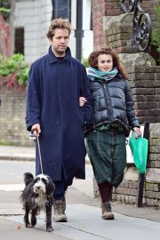 Helena Bonham Carter and Rye Dag Holmboe Out in London 2020/11/15 5