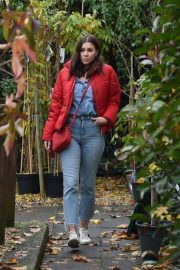 Imogen Thomas Buying Plants at a Garden Centre in London 2020/11/17 1