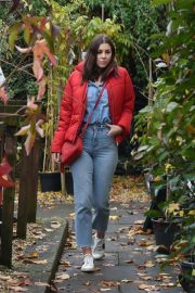 Imogen Thomas Buying Plants at a Garden Centre in London 2020/11/17 5