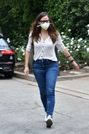 Jennifer Garner Check Out Construction of Her New Home in Brentwood 2020/10/22 9