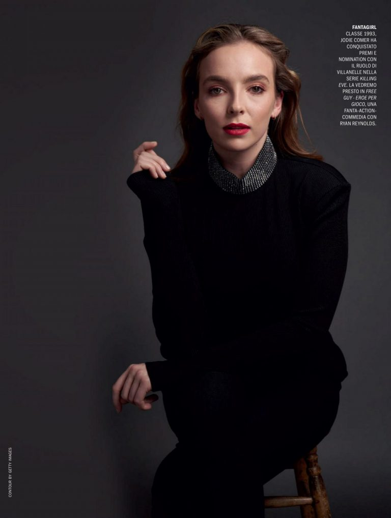 Jodie Comer in Marie Claire Magazine, Italy December 2020 2