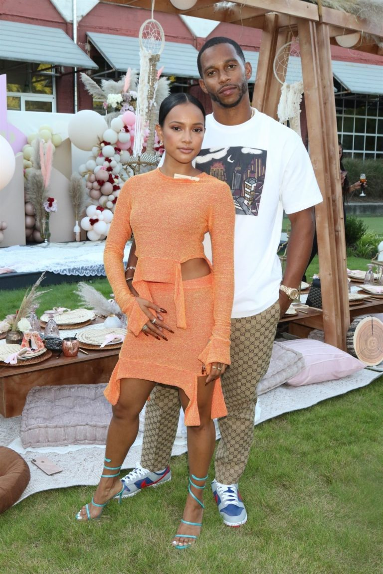 Karrueche Tran at Teyana and Iman's Baby Shower in Atlanta 2020/09/05 7