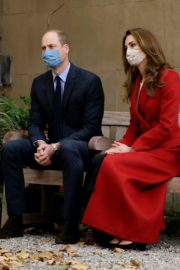 Kate Middleton and Prince William at St. Bartholomew's Hospital in London 2020/10/20 1