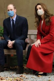 Kate Middleton and Prince William at St. Bartholomew's Hospital in London 2020/10/20 2