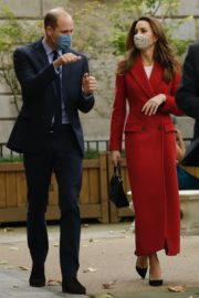 Kate Middleton and Prince William at St. Bartholomew's Hospital in London 2020/10/20 3