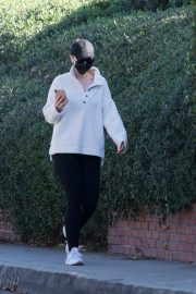 Katherine Schwarzenegger Out Morning Walk in Brentwood 2020/11/27 4