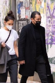 Katie Holmes and Emilio Vitolo Jr. Out in New York 2020/10/20 1