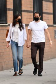 Katie Holmes and Emilio Vitolo Jr Out in New York 2020/11/22 6