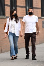 Katie Holmes and Emilio Vitolo Jr Out in New York 2020/11/22 7