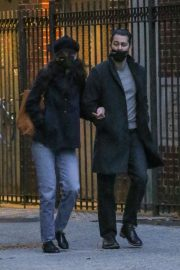 Katie Holmes and Emilio Vitolo Jr Out in New York 2020/11/26 9