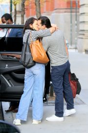 Katie Holmes and Emilio Vitolo Jr Out Kissing in New York 2020/11/27 4