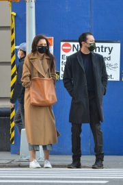Katie Holmes and Emilio Vitolo Out Shopping in New York 2020/11/16 1