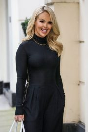 Katie Piper Out and About in London 2020/11/26 7