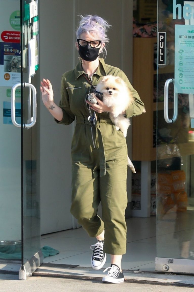 Kelly Osbourne Picks Up her Dog from Groomer in Los Angeles 2020/10/22 6