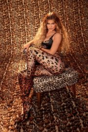 Kylie Jenner in Animal Printed Tights Photoshoot 2020/10/22 1