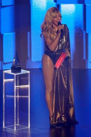 Laverne Cox at American Music Awards 2020 in Los Angeles 2020/11/22 2