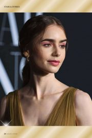 Lily Collins in Moments Magazine, December 2020 Issue 3