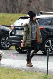Lucy Hale Out with Her Dog in New York 2020/11/26 3