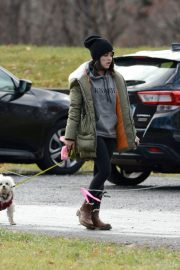 Lucy Hale Out with Her Dog in New York 2020/11/26 4