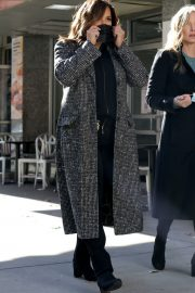 Mariska Hargitay on the set of Law & Order Special Victims Unit in New York 2020/11/16 3