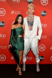 Megan Fox and Machine Gun Kelly attend 2020 American Music Awards in Los Angeles 2020/11/22 2
