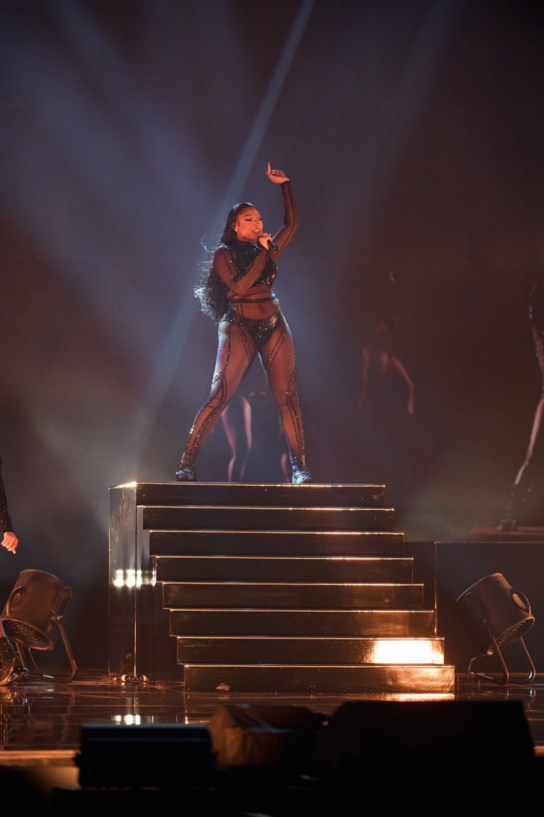 Megan Thee Stallion Performs at 2020 American Music Awards in Los Angeles 2020/11/22 2